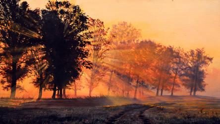 landscape by Windtalkerss