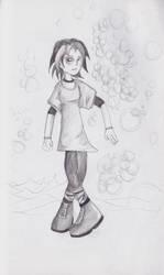Bubble Girl by eyeofjustice777