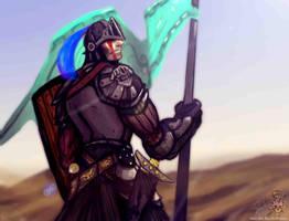 Black Knight by juliodelrio