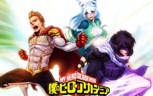 Boku no Hero Academia Big 3 by turpentine-08