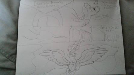 Fantasia's Battle with Sartarus by PrincessFantasyStar