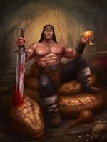 Conan the Barbarian by Tensor88