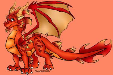 Ignitus The Guardian of Fire by KaiserAndJade