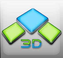 3D logo by noema-13