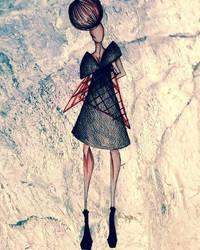 fashion illustration by Iva2494