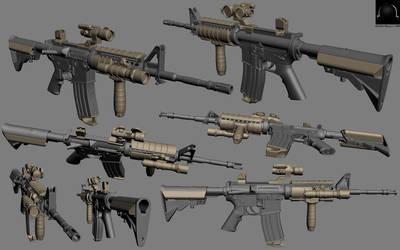 M4A1 Custom by camoteguau18