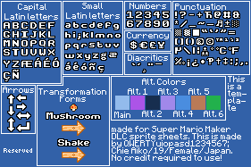 Super Mario Maker: SMM RTB Gridset by qwertyuiopasd1234567