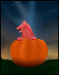 (YVH) Great Pumpkin! Inyssa by Gigaknotosaurus