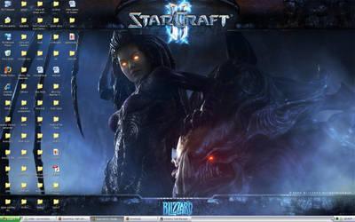 SCII: Background by BloodCri