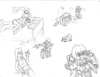 SQ- Doodlz 6 by BloodCri