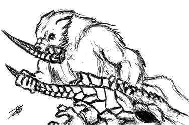 TG: DRAGON HORN MUST EAT by BloodCri