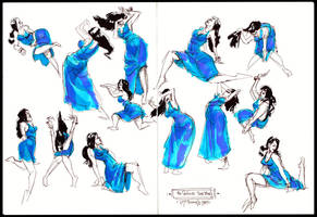 30 Second Warm Up Sketches by Cre8tivemarks