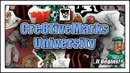 Cre8tiveMarks University Is Launched! by Cre8tivemarks