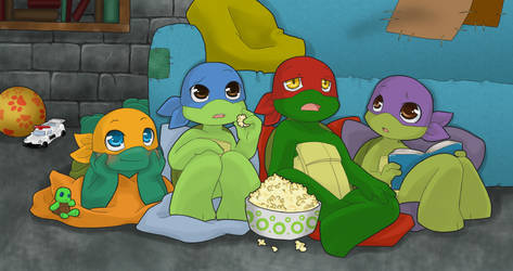 TMNT: TV time by NamiAngel