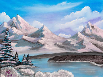 Winter in mountains by PG-Artwork