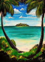 Sunny island by PG-Artwork