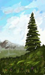 Single tree by PG-Artwork