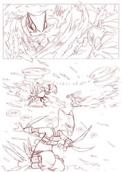 Foreign Shadows  page 16 draft by ChillySunDance