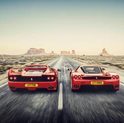 Ferrari F50 \ Enzo by Laffonte