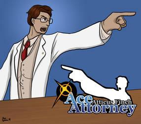 Atticus Finch: Ace Attorney by dark--typhoon