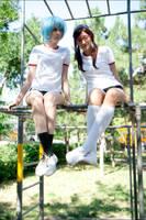 Evangelion - Playground by tajfu