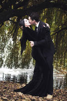 The Kiss by tajfu