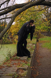The Addams' Kiss by tajfu