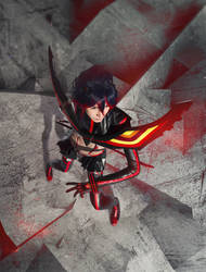 Kill la Kill - Don't lose your way by tajfu