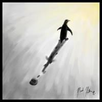 The little penguin by madhatter-penguin