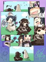 Doodle comic: Nee, Kono-chan.. by Kitsune-Konno