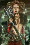 She-who-brings-Destruction by DameOdessa