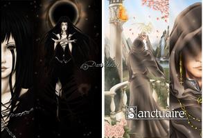 Artbook Cover .:: Sanctuaire ::. by DameOdessa