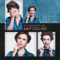 Png Pack 3526 - Lily Collins by southsidepngs