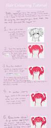Hair Colouring Tutorial [FireAlpaca] by Suzumichii