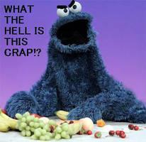 Cookie Monster by AlienEmerald