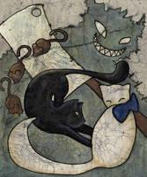 Butcher's Cat by twilightbeta