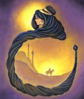 Rudaba Rapunzel by twilightbeta