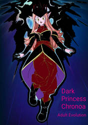 Mature Dark Princess Chronoa - adult evolution by thekod