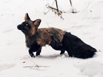 Handmade Poseable Fox Toy #5 by SnowVolkolak