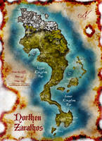 Map of North Zarathos by Stormcrow135