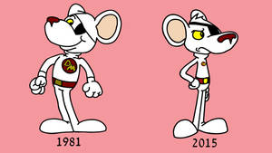 Danger Mouse - Then And Now by EyreToons
