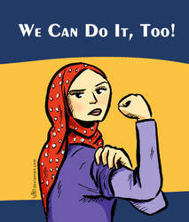 We Can Do It, Too by tuffix
