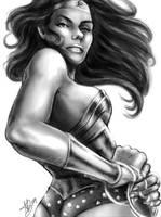 Wonder Woman Sketch by ReddEra