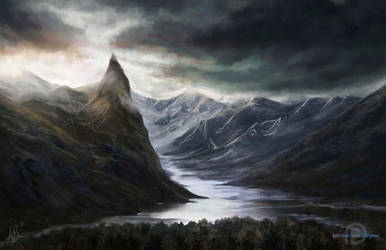 Ominous Landscape by ReddEra