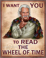 I Want YOU to Read the Wheel of Time by ReddEra