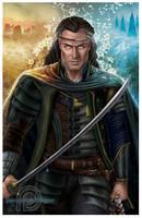 al'Lan Mandragoran, King of Malkier by ReddEra
