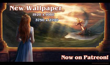 The Beauty of War Wallpaper by ReddEra