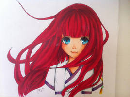 Maria from Shinsekai Yori by annastrid