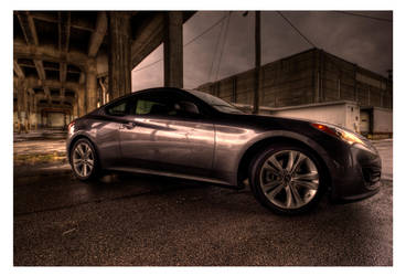 Hyundai genesis by Staticpictures