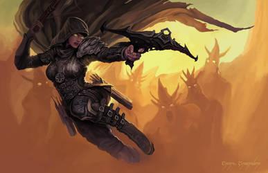 Demon Hunter by EmreCinardan